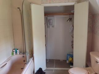 Bibury bathroom during.