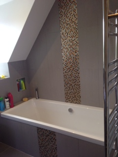 Cirencester bathroom completed.