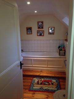 Hungerford bathroom before work began.